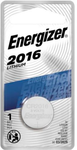 Pile bouton 3 V au lithium Energizer, 2016 Image de l'article