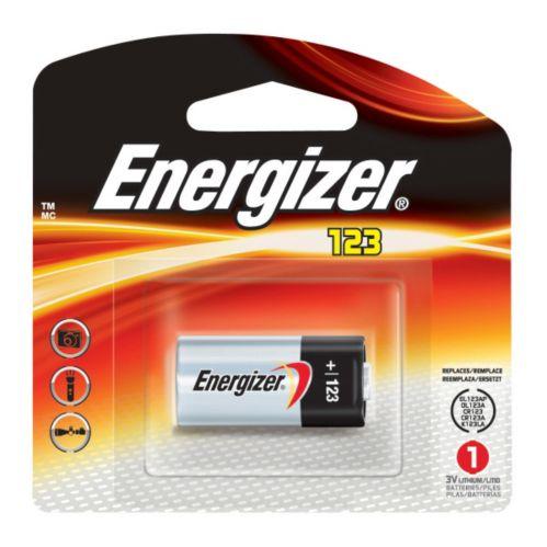 Energizer 123 Lithium Photo 3V Batteries Product image