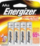 Energizer Advanced Alkaline AA Batteries, 8-pk | Energizernull