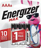 Piles alcalines Energizer Max AAA, paq. 8 | Energizernull