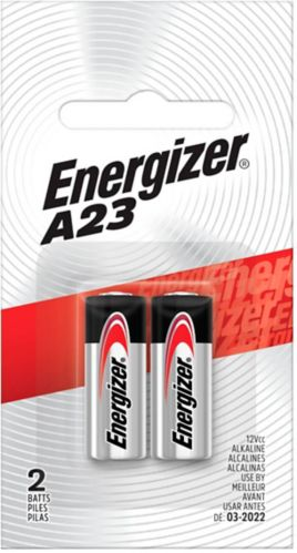 Energizer 12V Battery, A23, 2-pk Product image