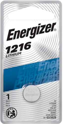 Energizer Coin Lithium 3V Battery, 1216 Product image