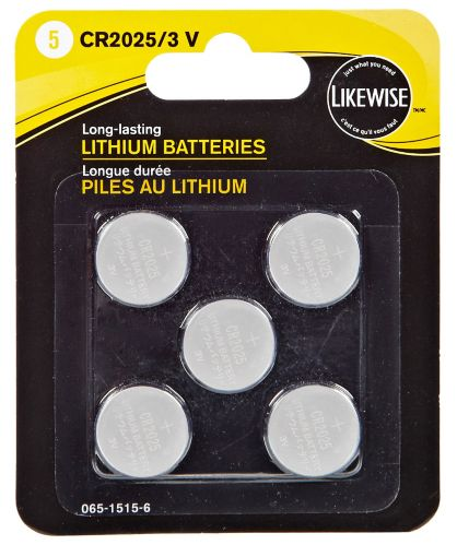 Likewise Lithium 3V Batteries, 2025, 5-pk Product image
