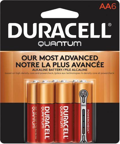 Piles AA alcalines Duracell Quantum, paq. 6