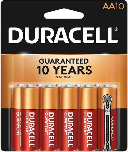 Piles AA alcalines Duracell Quantum, paq. 10