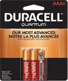 Piles AAA alcalines Duracell Quantum, paq. 6 | Duracellnull