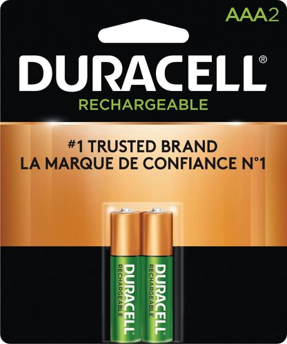 Duracell Pre-Charged Rechargeable AAA Batteries, 2-pk Product image