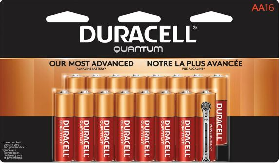 Duracell Quantum Alkaline AA Batteries, 16-pk Product image