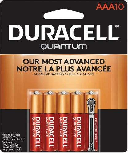Duracell Quantum Alkaline AAA Batteries, 10-pk Product image