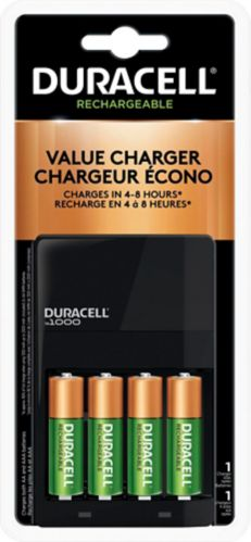Chargeur de piles Duracell Ion Speed 1000