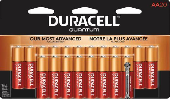 Duracell Quantum Alkaline AA Batteries, 20-pk Product image