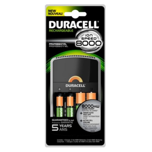 Duracell Ion Speed 8000 Battery Charger Product image