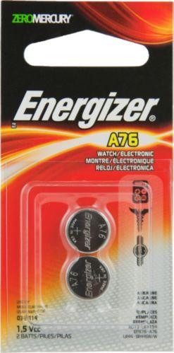 Piles alcalines A76 Energizer, paq. 2