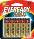 Piles AA alcalines Eveready Gold, paq. 10 | Evereadynull