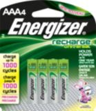 Energizer Universal Rechargeable AAA Batteries, 4-pk | Energizernull