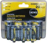 Likewise Battery Value Pack, AA/AAA/D | Likewisenull