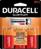 Duracell Quantum Alkaline 9V Batteries, 3-pk | Duracellnull