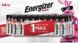 Piles Energizer Max AA, paq. 30 | Energizernull