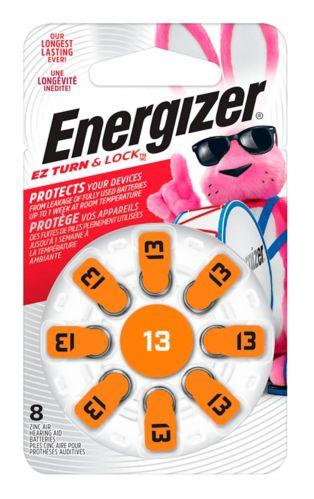 Piles Energizer AZ13 pour appareil auditif, paq. 8 Image de l'article