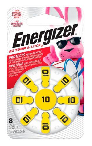 Piles Energizer AZ10 pour appareil auditif, paq. 8 Image de l'article