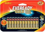 Eveready Gold AAA Alkaline Batteries, 12-pk | Evereadynull