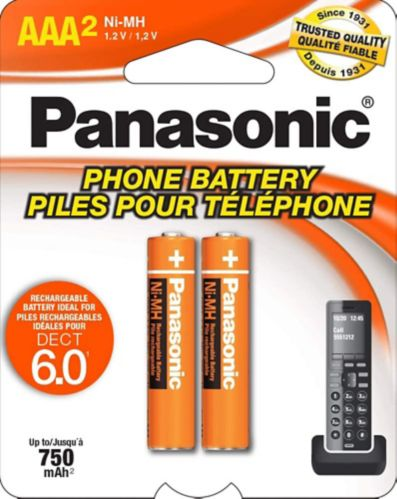 Pile pour téléphone sans fil Panasonic Image de l'article