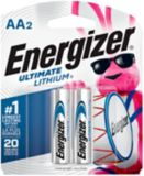 Energizer Ultimate Lithium AA2 Battery, 2-pk | Energizernull