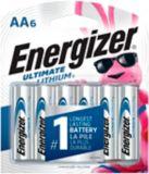 Energizer Ultimate Lithium AA6 Battery, 6-pk | Energizernull