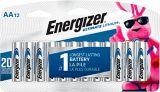 Energizer Ultimate Lithium AA12 Battery, 12-pk | Energizernull