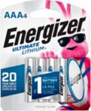 Energizer Ultimate Lithium AAA4 Battery, 4-pk | Energizernull