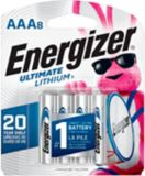 Piles AAA8 Ultimate Lithium d'Energizer, paq. 8 | Energizernull