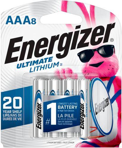 Piles AAA8 Ultimate Lithium d'Energizer, paq. 8 Image de l'article
