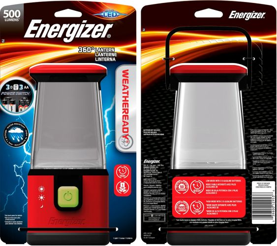 Energizer 360-Degree Safety Emergency Lantern