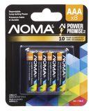 Pile alcaline NOMA AAA, paq.8 | NOMAnull