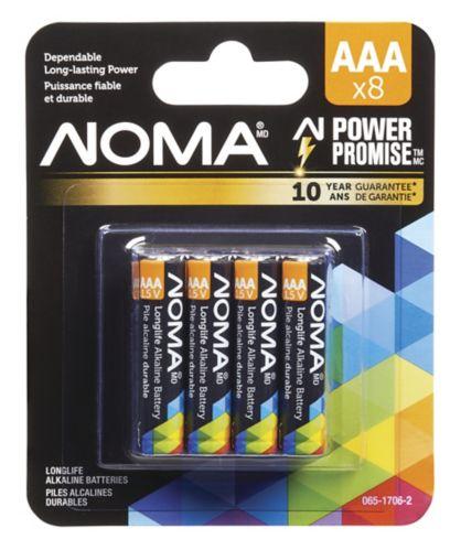 Pile alcaline NOMA AAA, paq.8