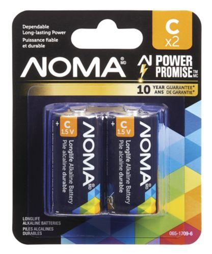 NOMA C Alkaline Battery, 2-pk Product image