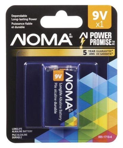 NOMA 9V Alkaline Battery Product image