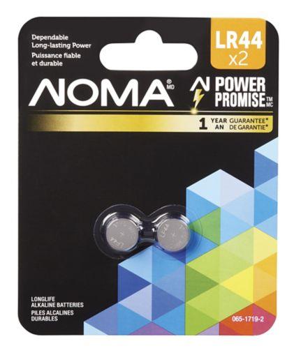 Pile spécialisée LR44 NOMA, paq. 2 Image de l'article