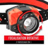 Lampe frontale rechargeable Coast FL75R, bi-mode | Coastnull