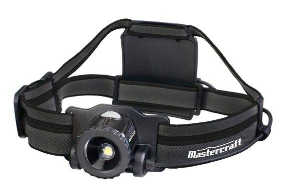 Mastercraft 450 Lumen Rechargeable Headlamp