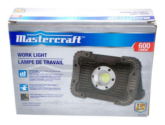 Mastercraft 600 Lumen Utility Light