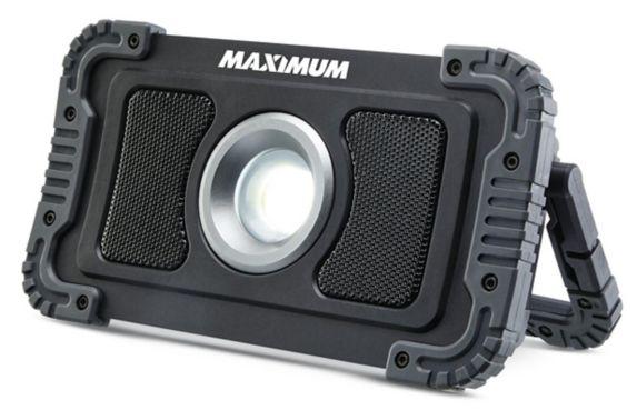 Mastercraft 1200 Lumen Utility Bluetooth Light Speaker Product image