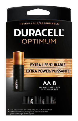 Piles Duracell Optimum, AA, paq. 8 Image de l'article