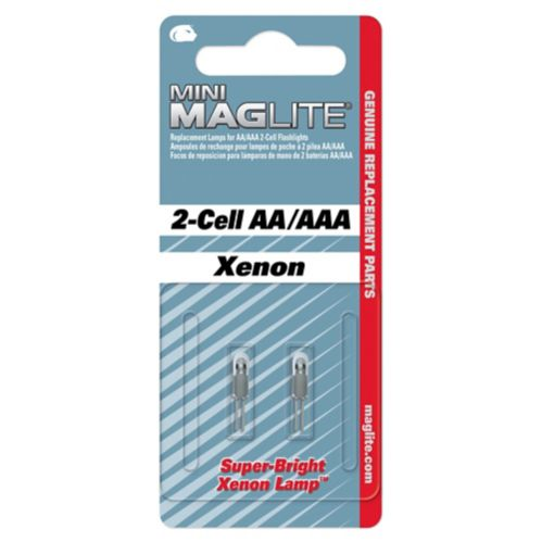 Maglite Replacement Push-In Mag Flashlight Bulb, 1-AA