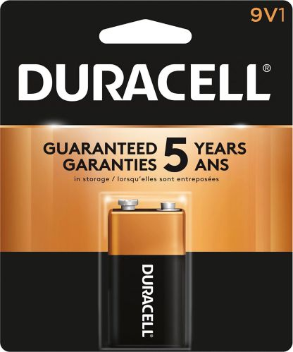 Duracell Copper Top Alkaline 9V Battery Product image