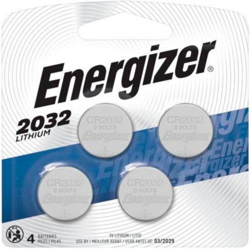 Pile bouton au lithium de 3V Energizer, 2032, paq. 4 Image de l'article