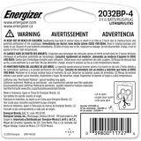 Pile bouton au lithium de 3V Energizer, 2032, paq. 4 | Energizernull