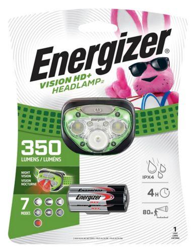 Lampe frontale à DEL Energizer Pro 7, 350 lumens