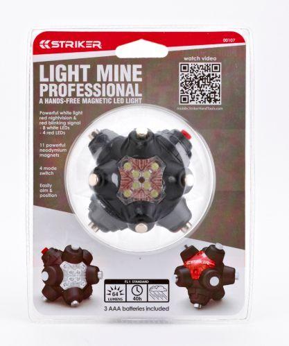 Lampe de professionnel Striker Light Mine