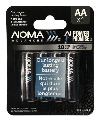 Piles AA NOMA Advanced, paq. 4 Image de l'article